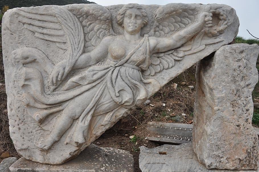 Carved figure of Aphrodite