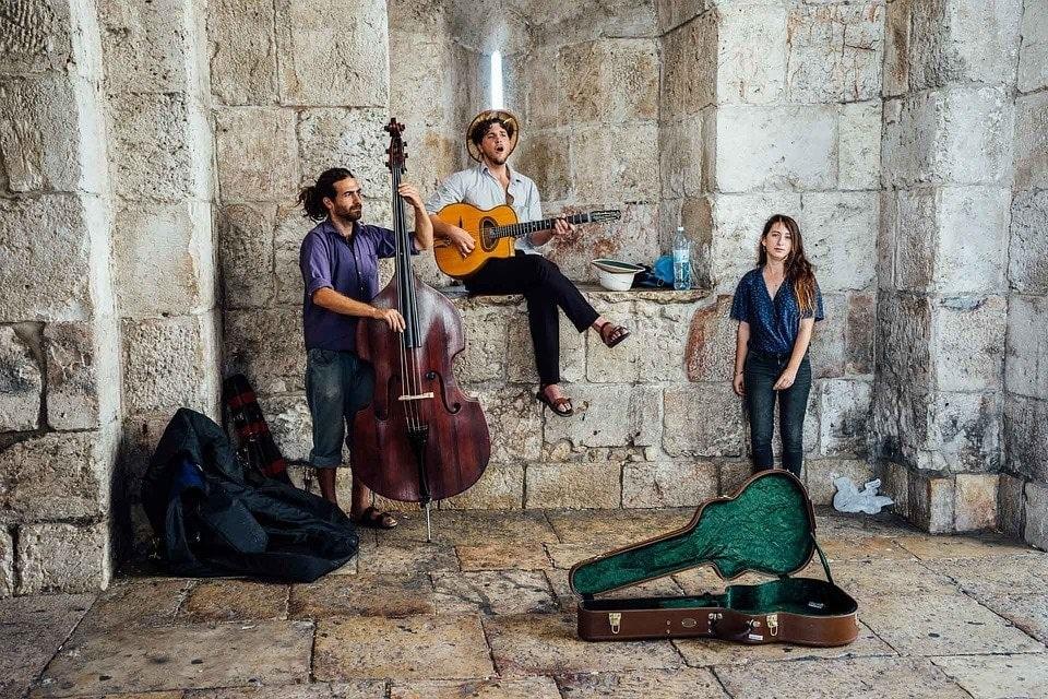 Street Musicians Israel